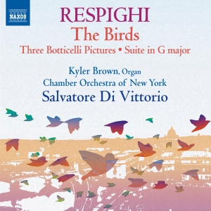 Respighi - Naxos CD 8.573168 cover
